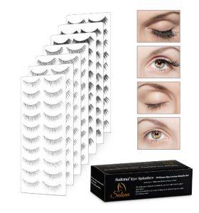 1.Salona, False Eye Lashes