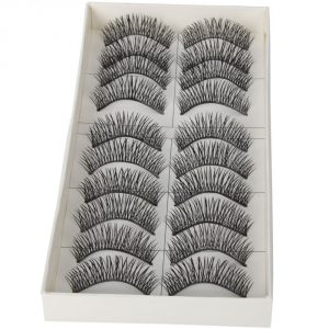 3. Dimart Black Long Thick Soft False Eyelashes