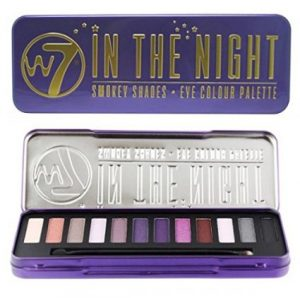 8. W7 'in the night' Smokey Shades, Eye Colour Palette