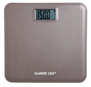 Precision Ii Digital Bathroom Scale 440 Lbs Capacity With Weight Change Detection Technology