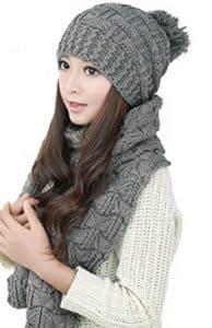 10-bienvenu-winter-warm-knitted-scarf-and-hat-set
