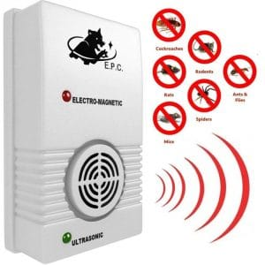 What do reviews say about the effectiveness of electronic pest control devices?