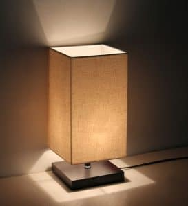 top 10 best stylish nightstand lamps in 2017 topreviewproducts. Black Bedroom Furniture Sets. Home Design Ideas
