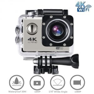 top 10 best action cameras in 2017 topreviewproducts. Black Bedroom Furniture Sets. Home Design Ideas