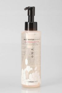 10.The Face Shop - Rice Water Bright - Cleansing Light Oil