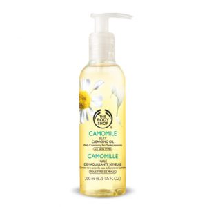 4. The Body Shop, Camomile Silky Cleansing Oil