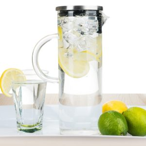 1. Bobu Cuisine's Glass Pitcher