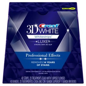 1. Crest 3d White Whitestrips Professional Effects