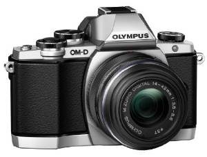 1. Olympus, OM-D E-M10 Mirrorless Digital Camera (Silver)