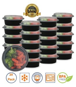 10. Pakkon Round Bento Lunch Box