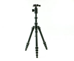 10.Dolica TX570DS Ultra Compact Tripod with Built-In Monopod