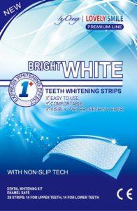 2. Bright white teeth whitening strips