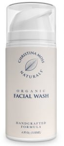 2. Christina Moss Naturals organic facial wash