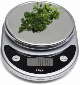 2. Ozeri Pronto Digital multi-function Kitchen and food scale