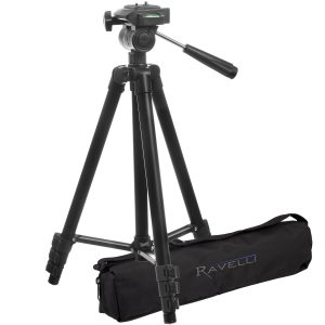 "2.Ravelli APLT2 50"" Light Weight Aluminum Tripod"