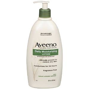 3. Aveeno Active Naturals Daily Moisturizing Lotion