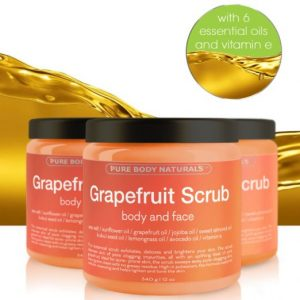 3. Grapefruit Scrub for Face and Body
