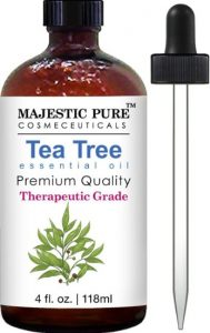 3. Majestic Pure Therapeutic Melaleuca Alternifolia, with Dropper