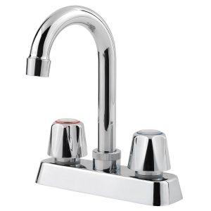 3. Pfister Pfirst Series 2-Handle Kitchen Faucet