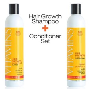 3. VITAMINS Hair Loss Shampoo, Natural Biotin