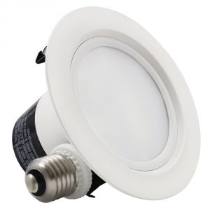 3.TORCHSTAR, 4-inch ENERGY STAR UL-classified 12W Dimmable Retrofit LED Recessed Lighting Fixture