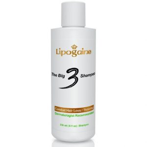 4. Lipogaine Big 3 for Men and Women, Premium