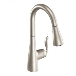 5. Moen 7594ESRS Arbor with Motionsense Kitchen Faucet
