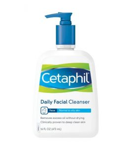 6. Cetaphil Daily Facial Cleanser