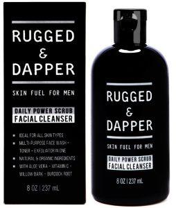 6. Daily Power Scrub Facial Cleanser for Men