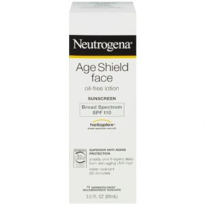 6.Neutrogena Age Shield Face Sunscreen SPF 110