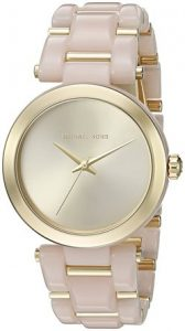 7. MICHAEL KORS, Women's MK4316 Delray Stainless Steel Casual Watch