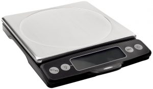7. Oxo Good crips Stainless steel Food scale