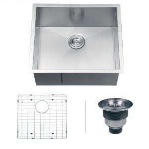 7. Ruvati RVH7100x Undermount 23-inch by 18-inch Kitchen Sink 16 Gauge Single Bowl