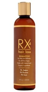 8. RX4 Hair Loss Shampoo for Men and Women