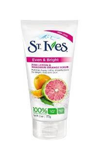 9. St Ives Scrub, Even & Bright Pink Lemon & Mandarin Orange