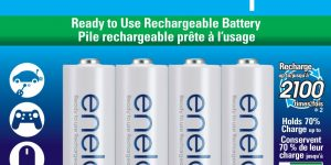 Top 10 Best Rechargeable AA Batteries in 2019