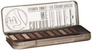 1.W7 Color Me Buff Natural Nude Eye Shadow Colour Palette