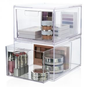 10-us-acrylic-llc-2-pack-premium-quality-stackable-cosmetic-storage