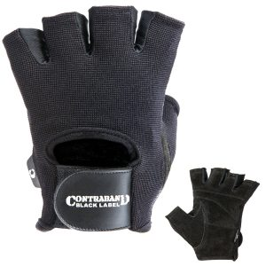 2-contraband-black-label-5050-basic-weight-lifting-gloves