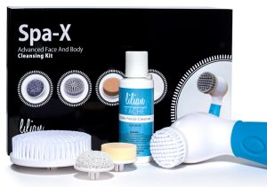 2. Lilian Fache Spa-X Advanced Waterproof Facial and Body Cleansing Kit