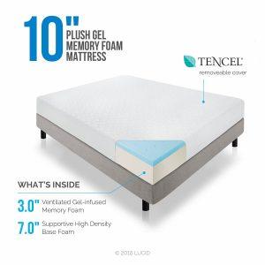 3-lucid-10-inch-plush-gel-memory-foam-mattress-king-size