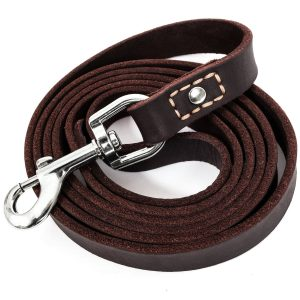 3. Leatherberg, Heavy Duty Leather Dog Leash
