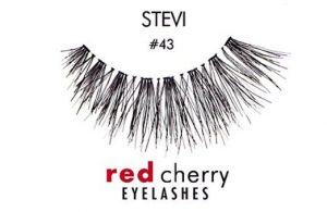 4. Red Cherry False Eyelashes #43