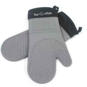 6-life-quintessentials-grey-silicone-oven-mitts