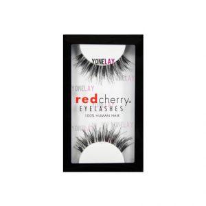 6. Red Cherry False Eyelashes