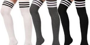 Top 10 Best Thigh-High Socks for Women in 2019