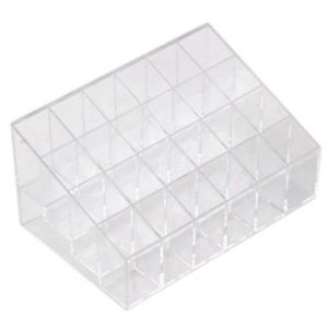 8-leegoal-clear-cosmetic-stand-24-lipstick-organizer