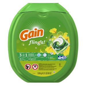 9-gain-flings-original-laundry-detergent