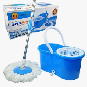 9. Woodsam Spin Mop