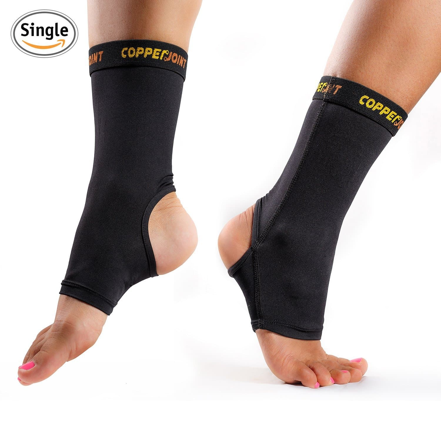 Achilles Tendon Plantar Fasciitis 1 Pair Joint Pain Foot /& Ankle Swelling and More. FJZLIFE Ankle Compression Support Adjustable Lightweight Ankle Brace for Injury Recovery